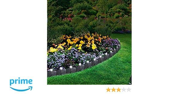 Parkland®, paquete de 24 luces de LED para jardín, borde de cantero y decoración de paisajismo., blanco: Amazon.es: Jardín