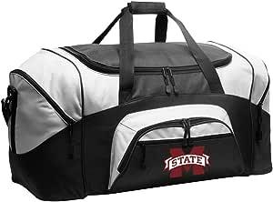 NCAA Mississippi State University Duffel Bag MSU Bulldogs Gym Bags w//Shoe Pocket