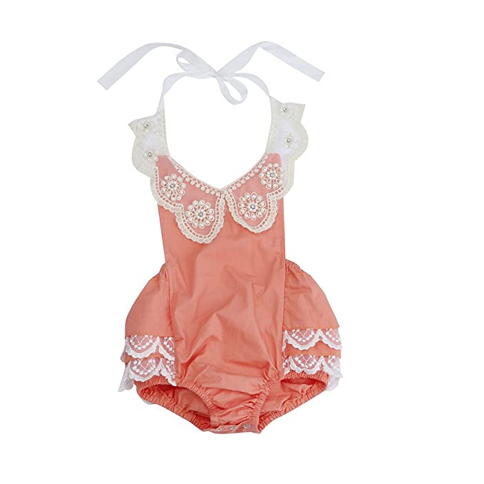f09ea2a60 Amazon.com  Sunward Toddler Baby Girls Outfits Clothes Cute Solid ...