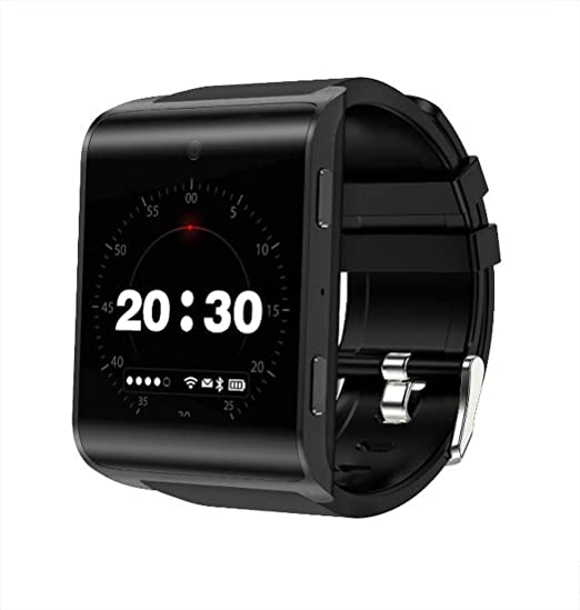 Smart Watch DM2018 Android 4G Reloj Inteligente WiFi Heart Rate Photo Watch Curved Screen Tarjeta de