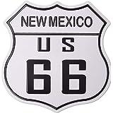 Amazon.com: Route 66 California Tin Sign 12 x 12 en: Home ...