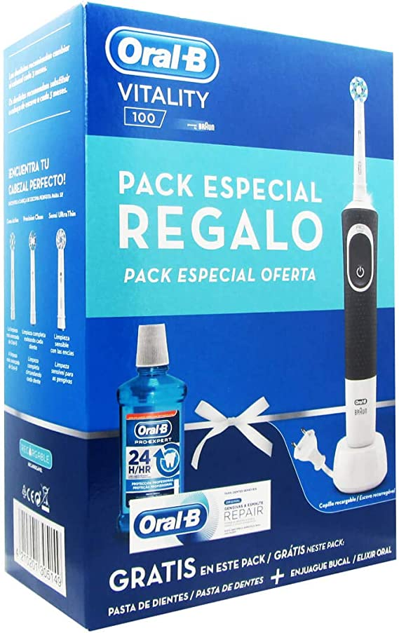 Oral-B, Cepillo de dientes eléctrico de rotación - 1000 ml ...