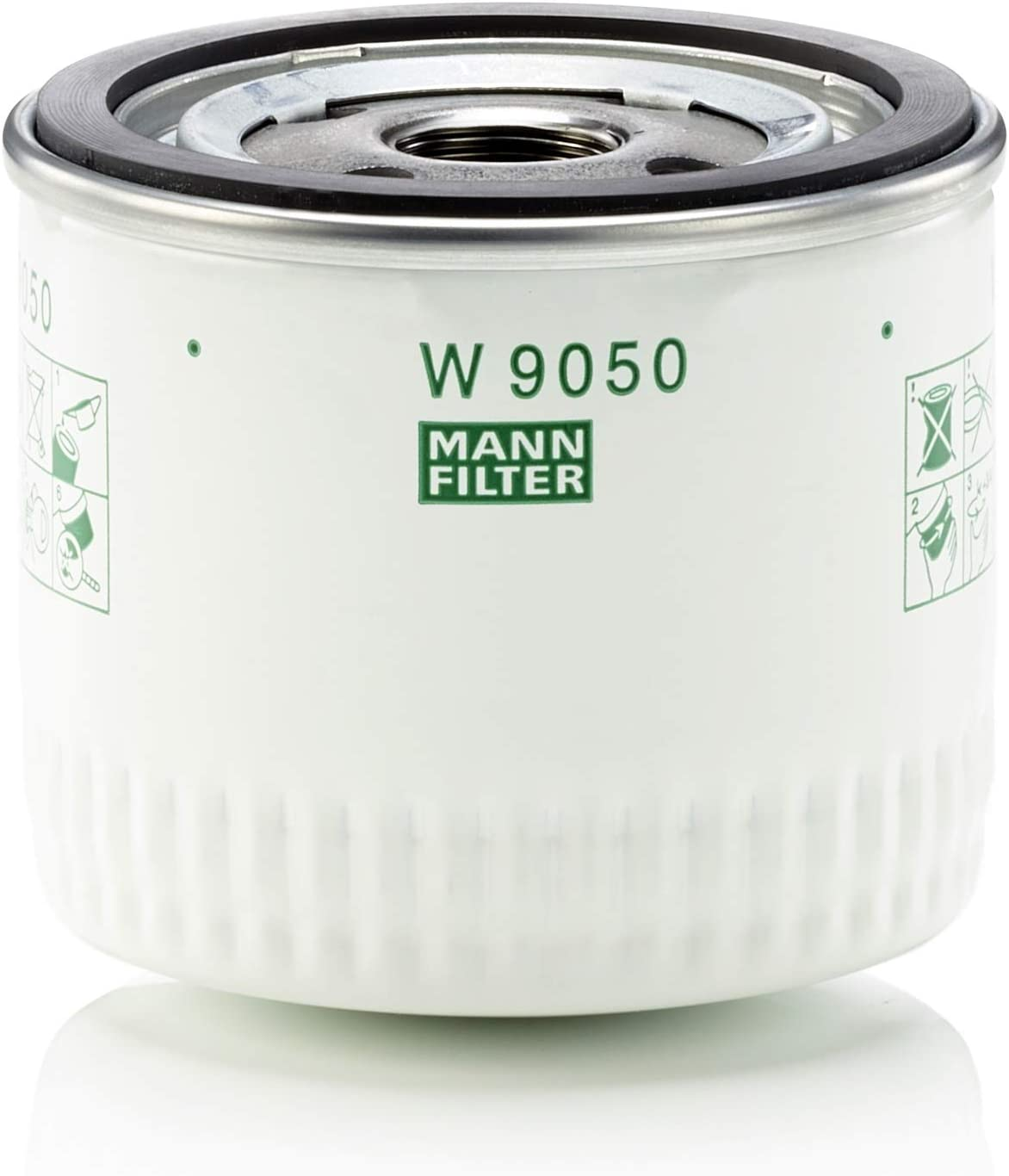 MANN-FILTER W 9050 Original Filtro de Aceite, Para automóviles ...