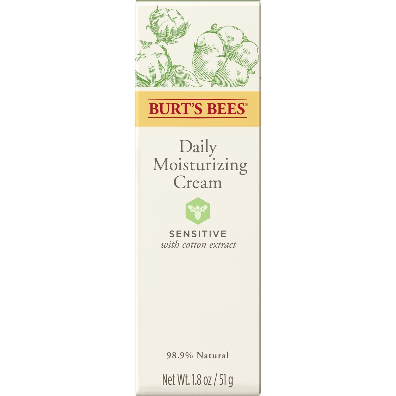 Burt's Bees Daily Face Moisturizer for Sensitive Skin, 1.8 Ounces by Burt's Bees (Image #11)