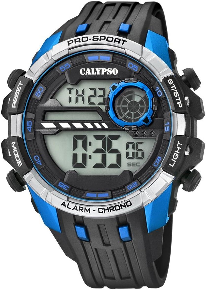Calypso Reloj Digital para Hombre de Cuarzo con Correa en Plástico K5729/3
