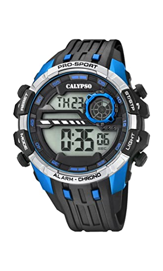 Calypso Reloj Digital para Hombre de Cuarzo con Correa en Plástico K5729/3: Calypso: Amazon.es: Relojes