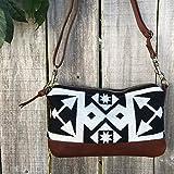 CUSTOM ORDER FOR SARAH Willamette Crossbody in Pendelton® wool and full grain leather