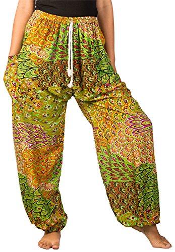 Drawstring Harem Pants - 3