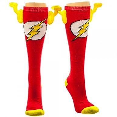 DC Calcetines Rodilla de Flash con Efecto 3D, KH2S83DCO: Amazon.es: Juguetes y juegos