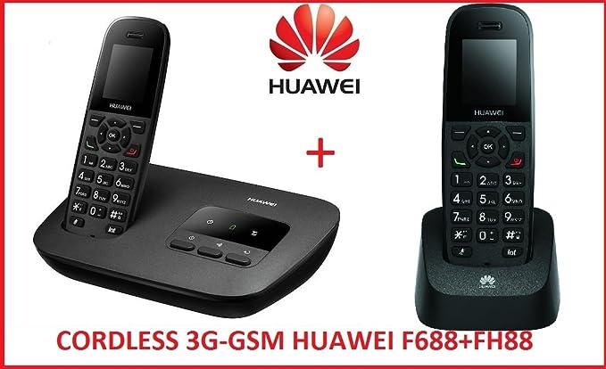 Huawei Cordless Duos GSM 3 G/UMTS F688 + fh88, nuevo utilizar con todas las le SIM de todos los sanitarios Muebles: Amazon.es: Electrónica