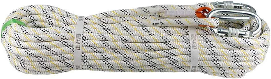 Equipo de escalada Rompiendo fuerza de aproximadamente cuerda ...