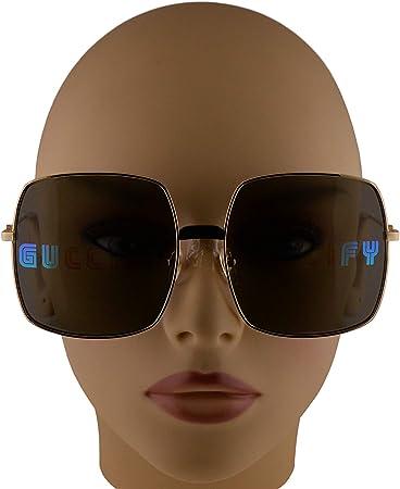 Gucci GG0414S Gafas De Sol Doradas Con Lentes Multicolor De Reflejo 60mm 002 GG0414/S 0414/S GG 0414S