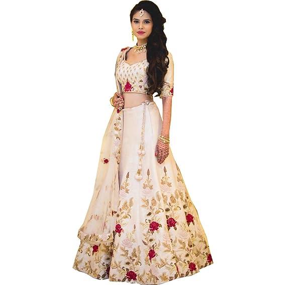 d43b723161 AMIT FASHIONS Indian Designer Lehenga Choli for Women: Amazon.co.uk:  Clothing