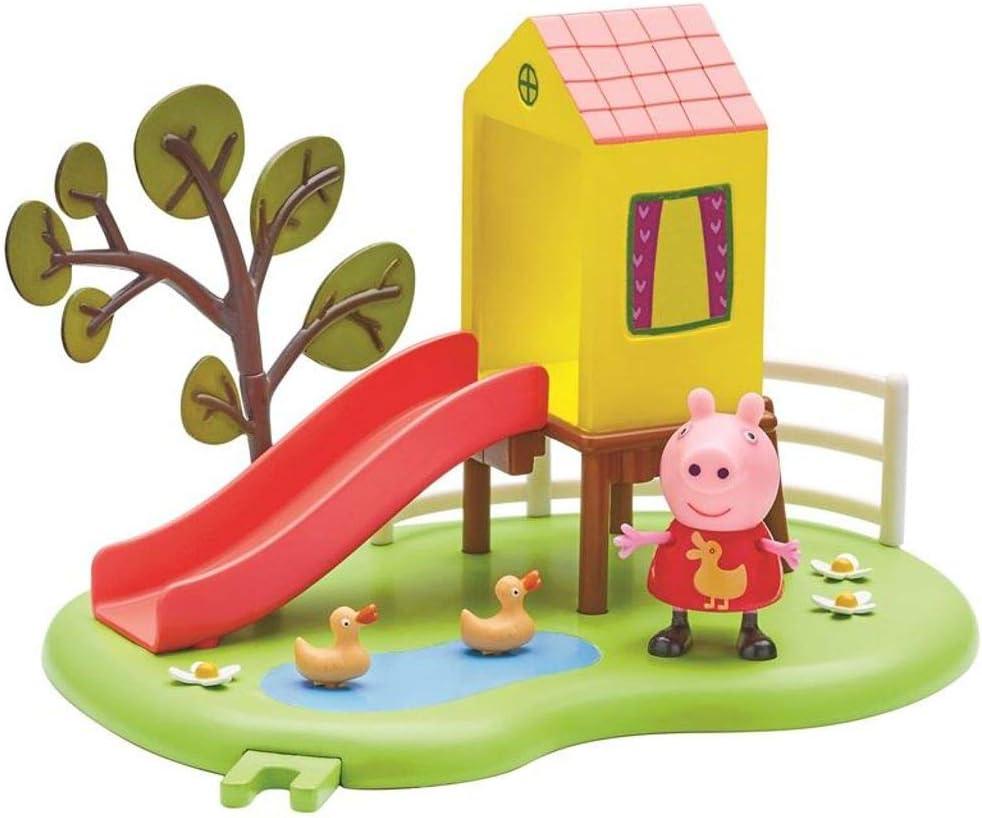 Toboggans Jeu Complet Avec Figure Peppa Peppa Pig Outdoor Toboggan Jeux Et Jouets Hotelaomori Co Jp
