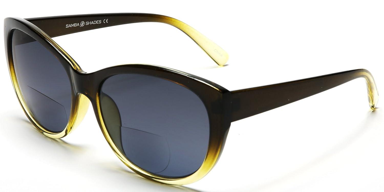 Mambo Shades Women's Fashion Sunglasses Black Yellow 2.25 SBR7061-C2-2.25
