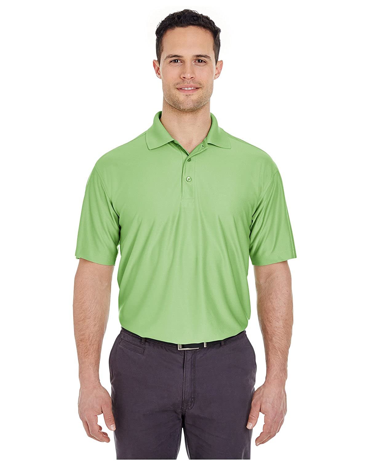 A Product of UltraClub Mens Tall Cool /& Dry Elite Performance Polo Bulk Disco
