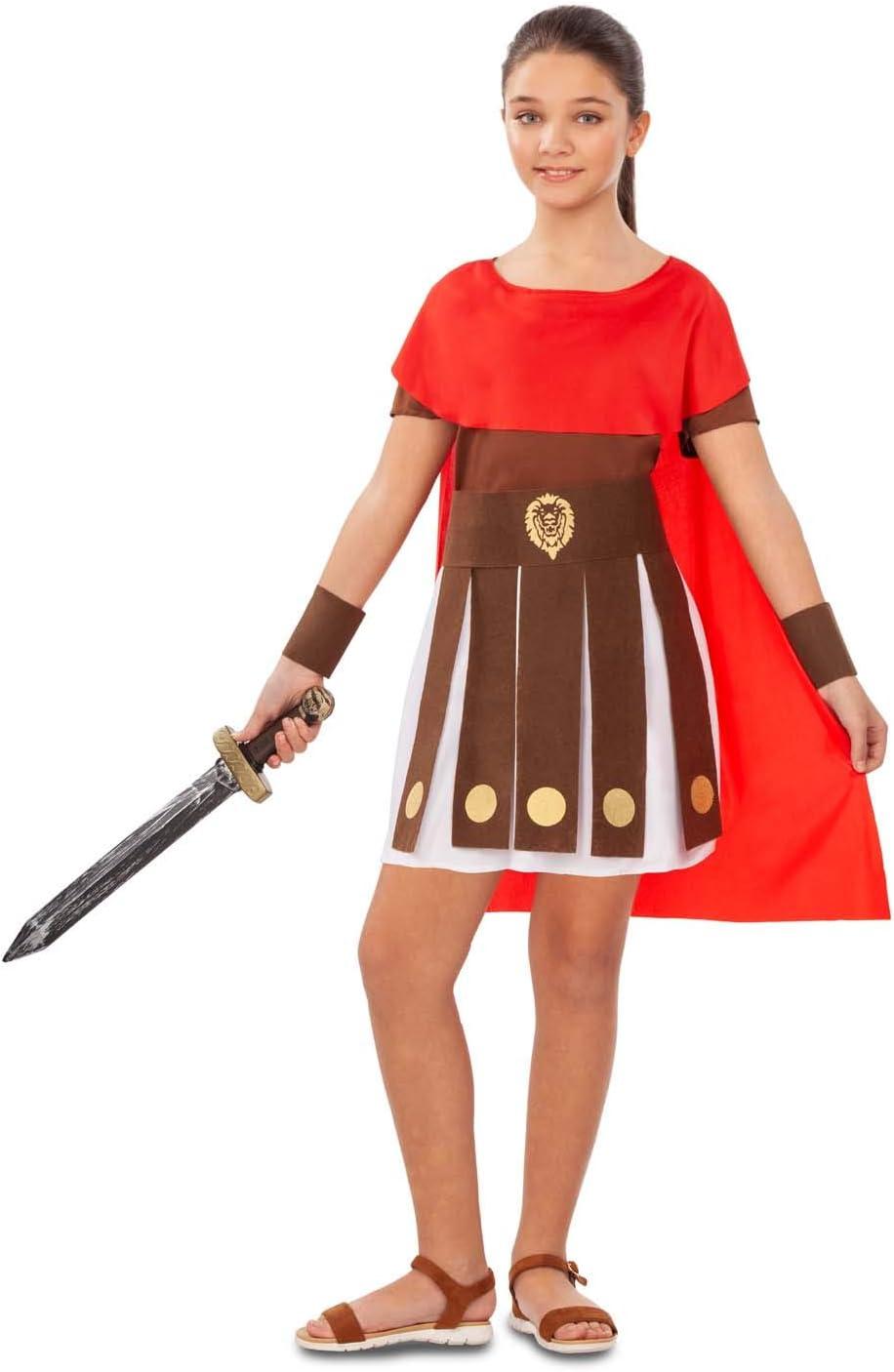My Other Me Disfraz de Guerrera Romana para niña: Amazon.es ...