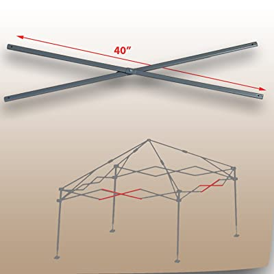 for Coleman 13 x 13 Straight Leg Instant Canopy Gazebo Tent MIDDLE TRUSS Bar Parts for Model 2000023729: Garden & Outdoor