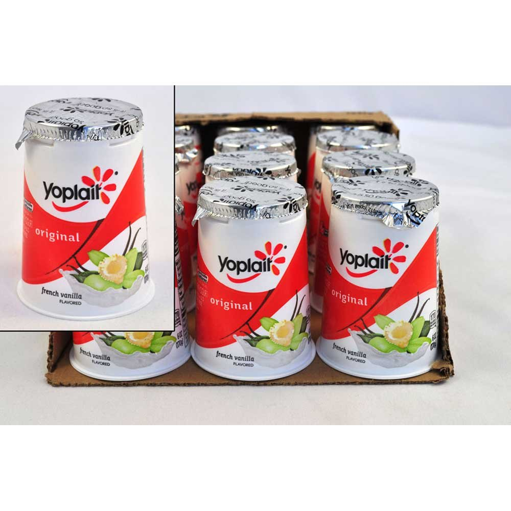 Yoplait Original French Vanilla Yogurt, 6 Ounce - 12 per case. by General Mills