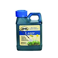 Liquid Harvest Lazer Blue Concentrated Spray Pattern Indicator 8 Ounces Perfect Weed Spray Dye, Herbicide Dye, Fertilizer Marking Dye, Turf Mark and Blue Herbicide Marker