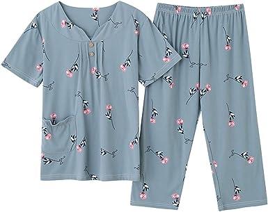 Conjunto de Pijamas de Ropa de Dormir de Talla Grande para ...