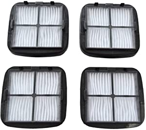 EZ SPARES Replacement for Bisel Cleanview Hand Vac HEPA Filter and Filter CleanView Vacuums Compare to 2037416 2031432 97D5(4pcs) …