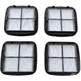 EZ SPARES Replacement for 4PCS Bisel Cleanview Hand Vac HEPA Filter and Filter Screen Fits Hand Vac Auto-Mate, Pet Hair, CleanView Vacuums; Compare to Bisel Part Nos. 2037416, 2031432 97D5