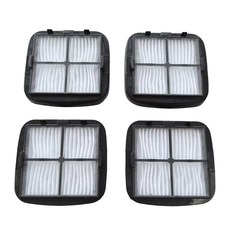EZ SPARES Replacement for 4PCS Bisel Cleanview Hand Vac HEPA Filter and Filter Screen Fits Hand Vac Auto-Mate, Pet Hair, CleanView Vacuums; Compare to Bisel Part Nos. 2037416, 2031432 97D5 HF267-4