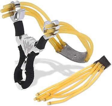 3 Leistungsstarke elastische Gummibänder für Outdoor-Schleuder-Katapult Jagd