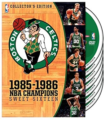 41df04b99 Boston Celtics  1985-1986 NBA Champions - Sweet Sixteen (Collector s  Edition) by
