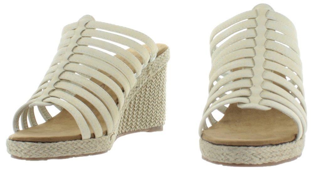 BEARPAW Women's Flora Sandal B00TQQYZNW 9 B(M) US White