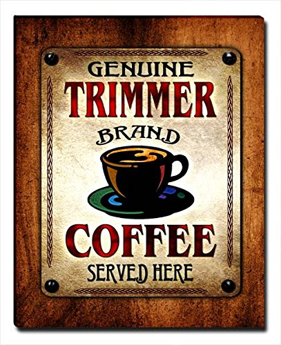 (ZuWEE Trimmer Family Coffee Gallery Wrapped Canvas Print)