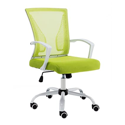 best sneakers 3cf88 36880 Modern Home Zuna Mid-Back Office Chair - White/Lime