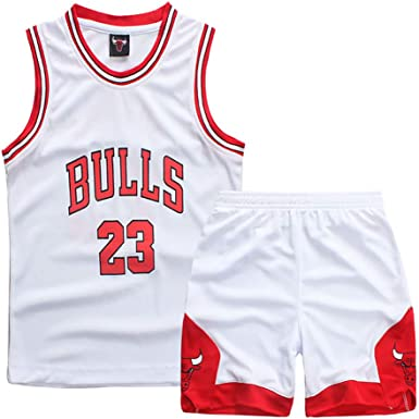 Tenue de Basket Ball pour Enfant, Durant Curry Jordan Irving James Harden Thompson Maillot de Basket Ball américain Miami New York Chicago,