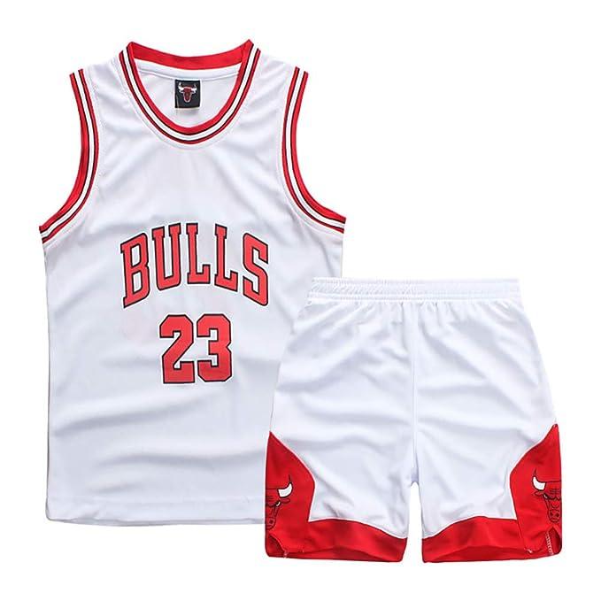 Traje de Baloncesto para niños, Durant Curry Jordan Irving James ...