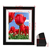 BOJIN 8x10 Picture Frames Made to Photo 6x8 with
