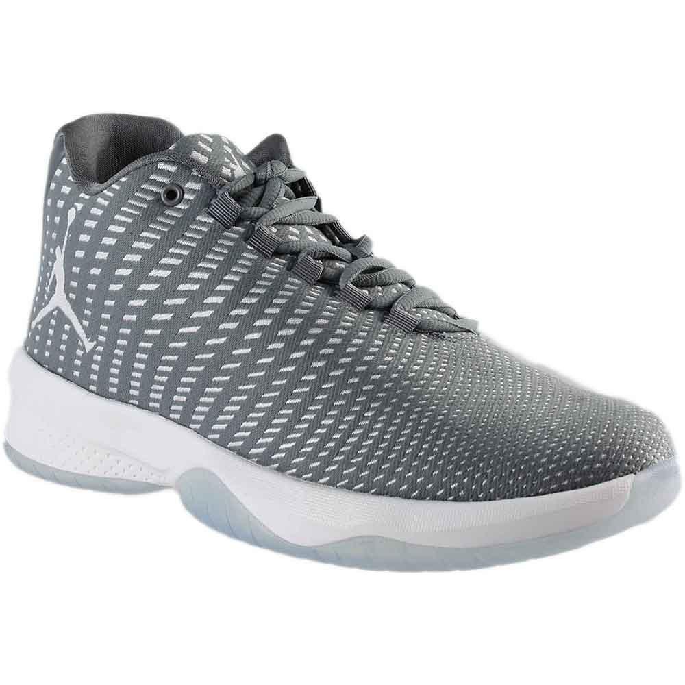 Jordan Men's B. Fly Cool Grey/White/Wolf Grey Basketball Shoe 8.5 Men US