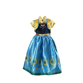 Disfraz deluxe de Frozen: Fiebre Congelada de la princesa Anna ...