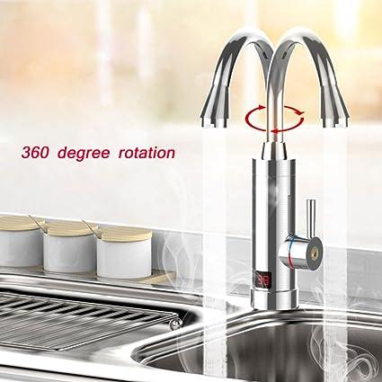 Elegante grifo de alta calidad- Calentador de agua caliente Cocina Calentador de agua caliente instantáneo