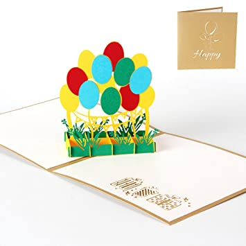 Amazon Cici Store Handmade Holiday Greeting Cards 3d Pop Up