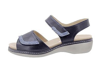 0ca3706c9fa Sandalia Plantilla Extraíble Piel Visón 180802 PieSanto Zapato Confort   Amazon.es  Zapatos y complementos