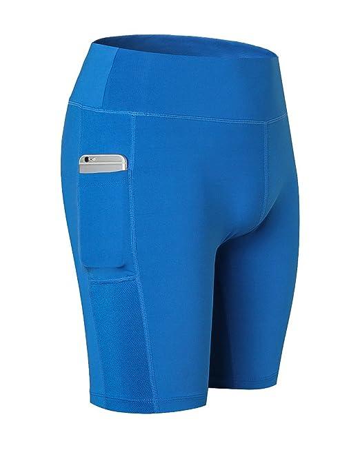 Pantalón corto Deportivo de Mujer Pantalones de Yoga Leggings Elásticos  para Pilates Running Fitness Ejercicio Gimnasio Mallas Deportivas para Mujer   ... 70e49f01e4710