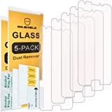 "[5-PACK]-Mr Shield For Samsung ""Galaxy J3 Luna Pro"" 4G LTE [Tempered Glass] Screen Protector with Lifetime Replacement Warranty"