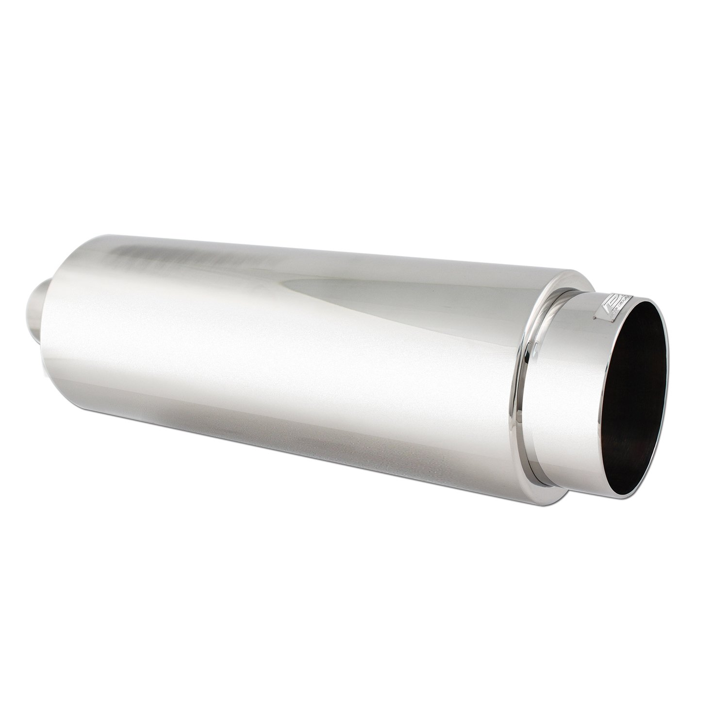 DC Sport EX-5012 Stainless Steel Round Muffler and Exhaust Tip DC Sports