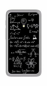 Tumundosmartphone Funda Gel TPU para Orange Rise 51 / ALCATEL PIXI 4 (5) 4G / VODAFONE Smart Turbo 7 diseño Formulas Dibujos: Amazon.es: Electrónica