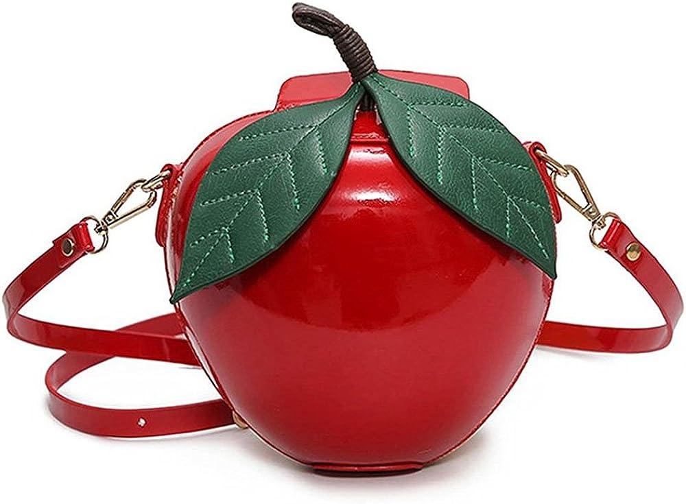 Apple Shape PU Leather...