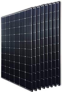 Renogy 8Pcs 300 Watt 24 Volt Monocrystalline Solar Panel 2400W for Off-Grid On-Grid Large Solar System, Residential Commercial House Cabin Sheds Rooftop, Multi-Panel Solar Arrays