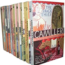 Inspector Montalbano Series Andrea Camilleri 10 Books Set Collection Pack