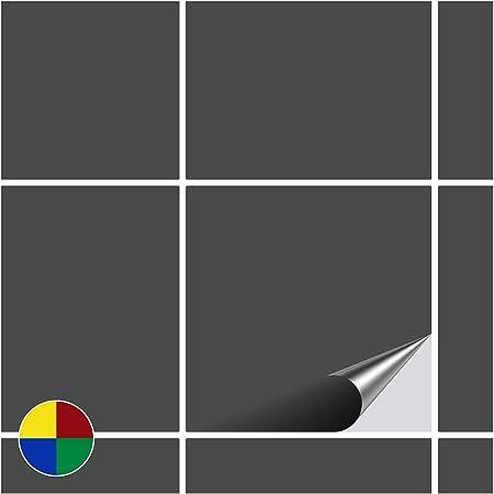 /Amarillo Brillante/ FoLIESEN Adhesivo para Azulejos para ba/ño y Cocina/ /20/x 20/cm/ /20/Adhesivos para Azulejos para Pared Azulejos