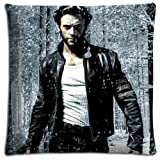 18x18 inch 45x45 cm bench pillow case Polyester and Cotton Inspirational King Size X-Men Origins Wolverine